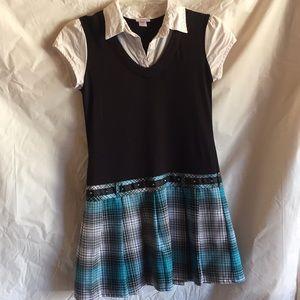 Justice girl dress sz 12